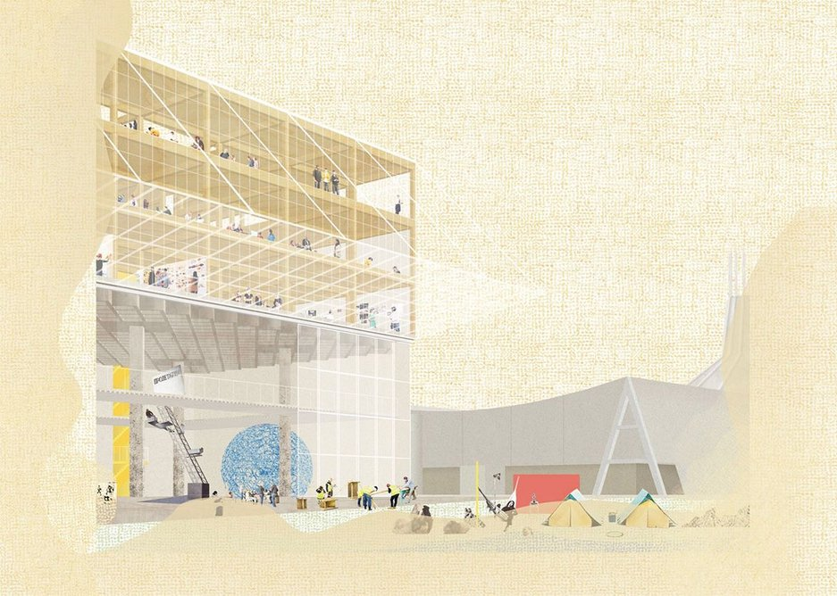 6a Architects received a special mention for its proposal.