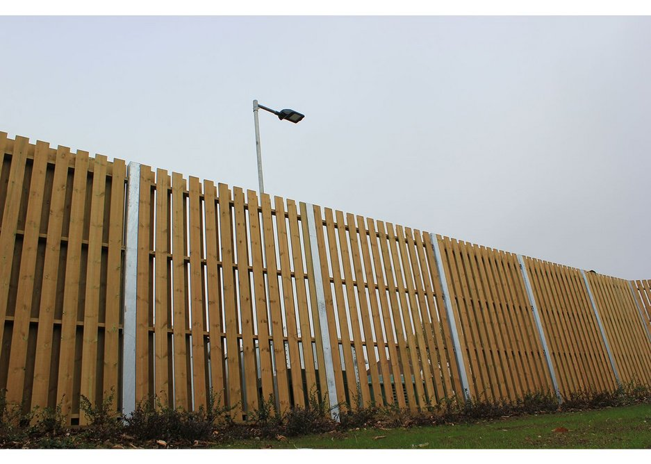 The Northwood School landscape design project by Lizard uses both timber and metal solutions from Jacksons Fencing.