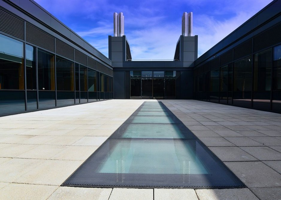 Made-to-order Xtralite glass walk-on rooflights are ideal for modern, flat roofed extensions.