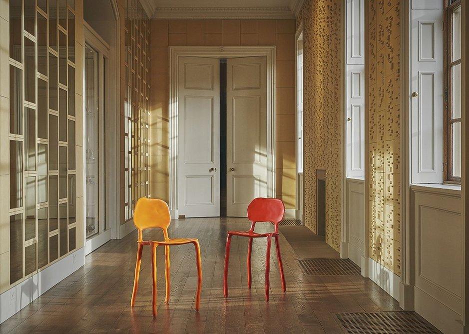 Clay Chairs by Maarten Baas.