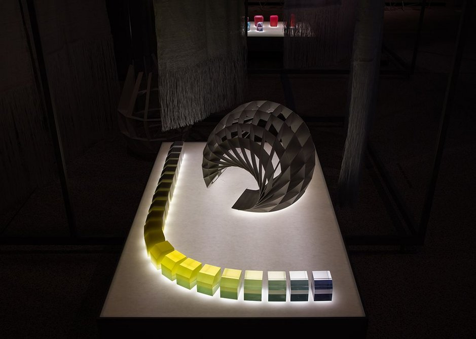 Breathing Colour by Hella Jongerius at the Design Museum.