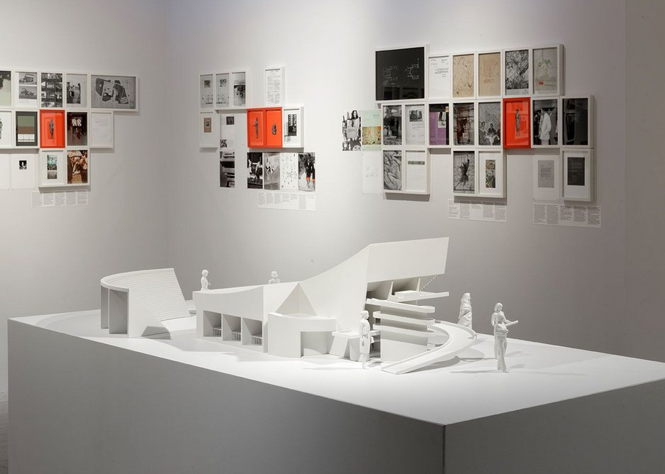 Ala Younis, Plan for Feminist Greater Baghdad exhibition installation view, 2018.