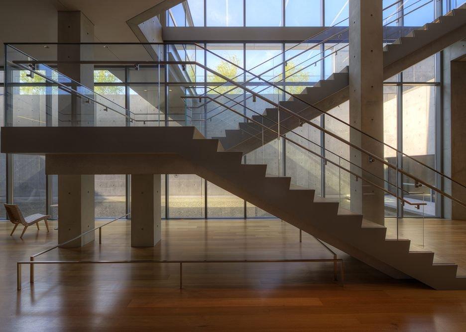 Clark Center interior.