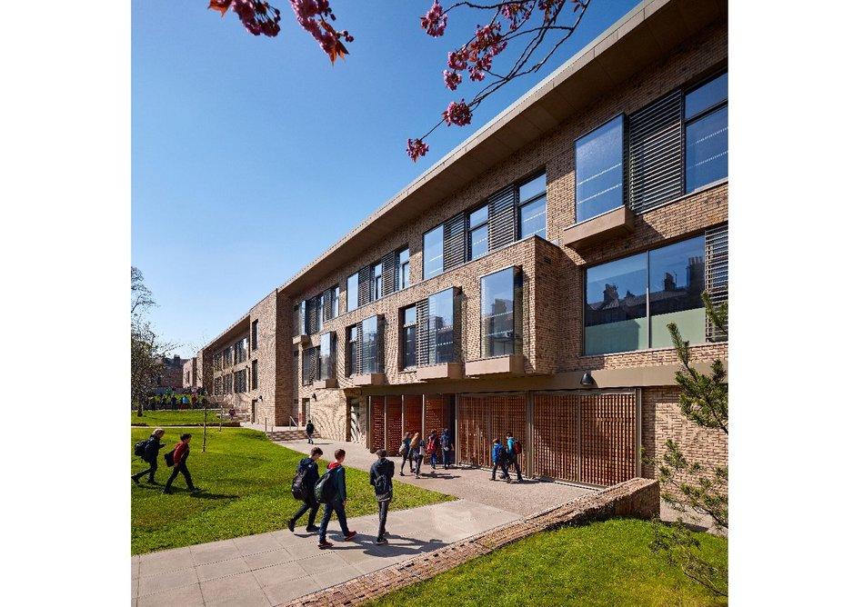 James Gillespie's Campus classrooms, jmarchitects.