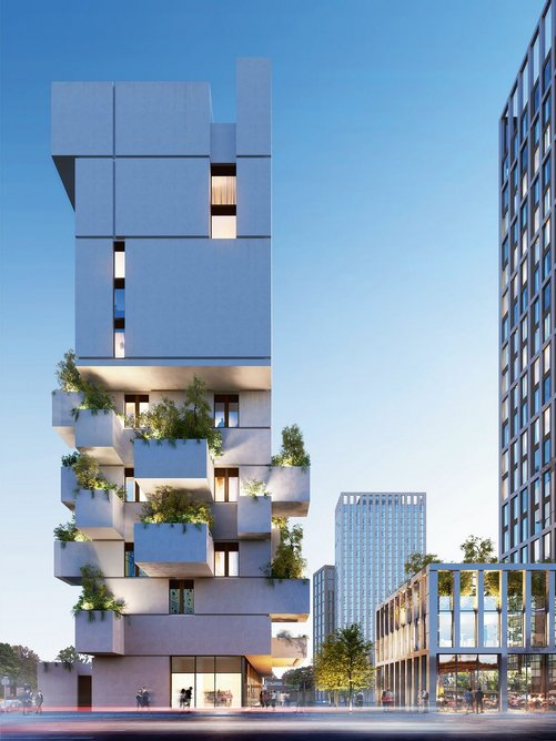 Stephenson Studio's £35 million Jenga Hotel on Adair Street is the kind of architecture that keeps the developer on local front pages.