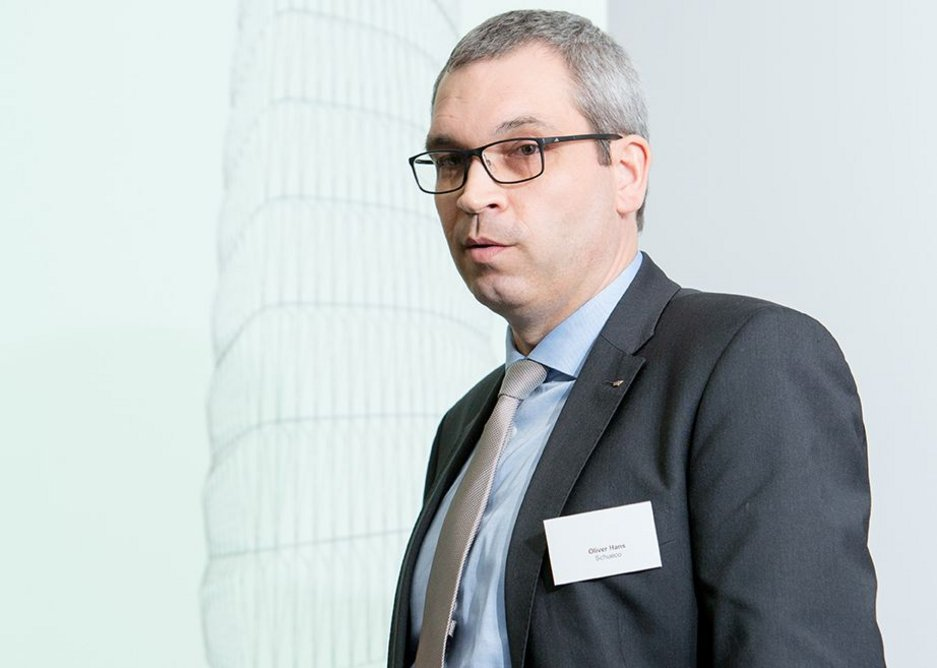 Schueco International's Oliver Hans with the manufacturer's view on how technology can improve efficiency – and design.