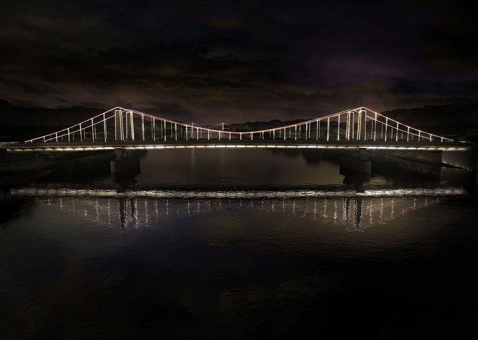 Chelsea Bridge.