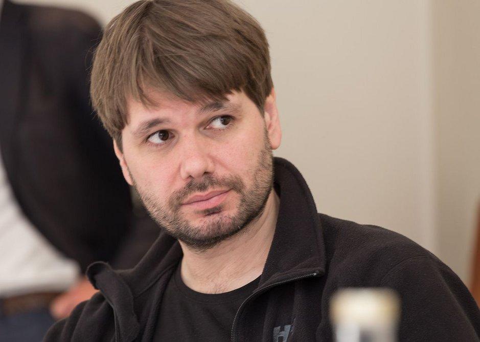 Dirk Krolikowski, tutor at the Bartlett and founder DKFS Architects.