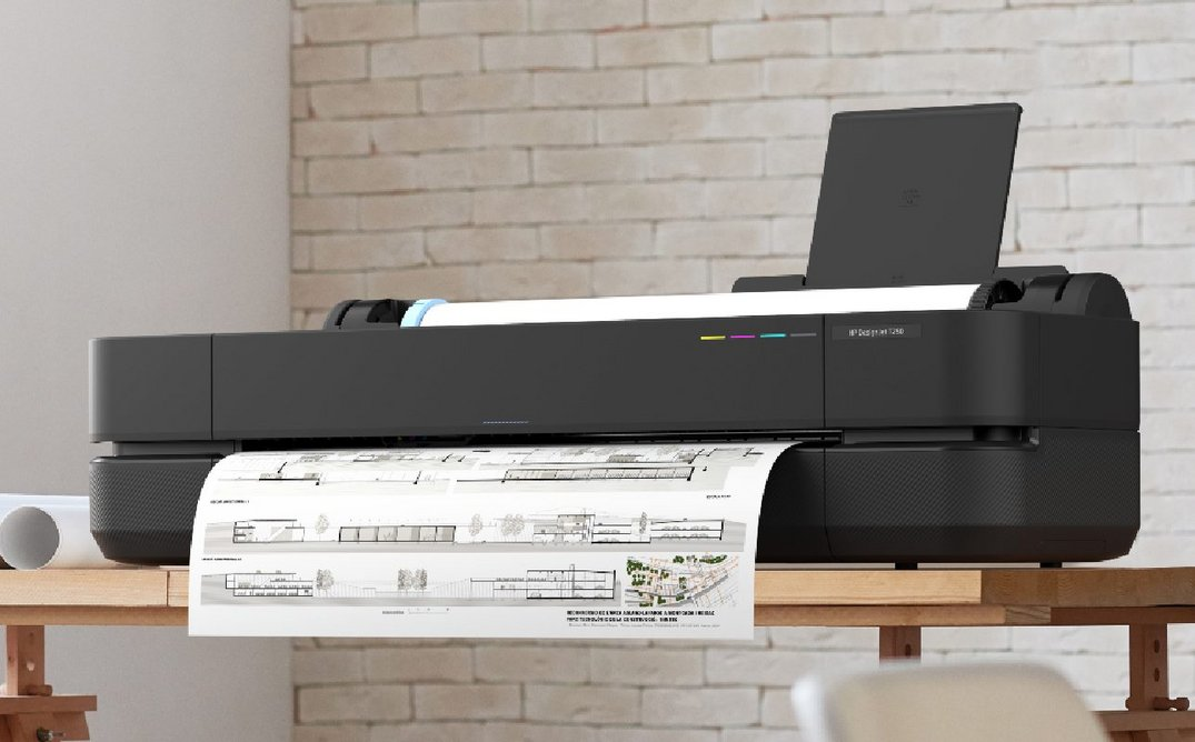 HP DesignJet: Extreme simplicity enables user collaboration and multitasking.