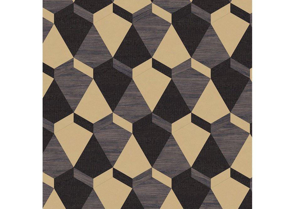 Aggregate: Kite laying pattern with Cirrus Twilight, Quill Gesso and Metal Gold Leaf.
