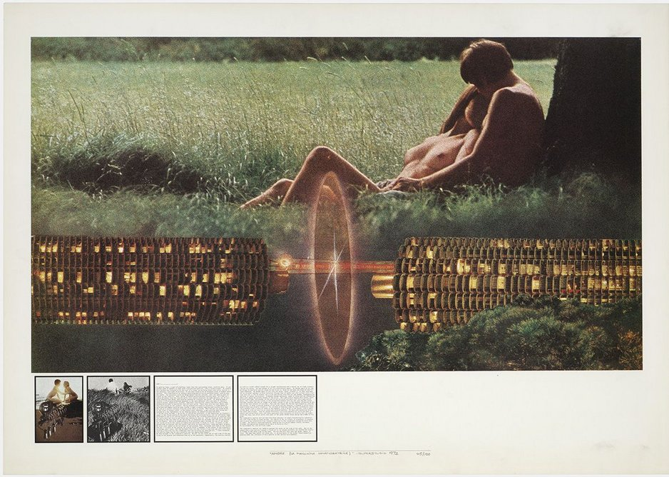 Atti Fondamentali. Amore: la Macchina innamoratrice, 1971–1973.