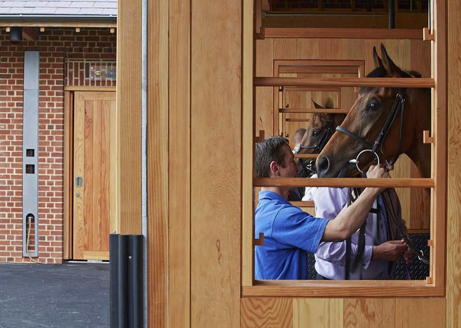 Saddling boxes have been fitted with power and water for added convenience.
