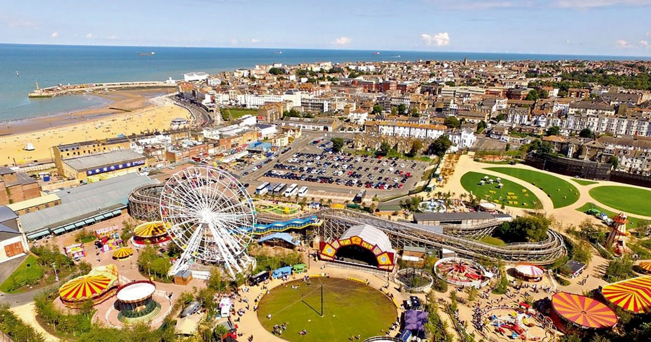 Could we see a resurgence in coastal entertainment venues? Guy Hollaway Architects worked on the reinvention of Margate's Dreamland ahead of its reopening in 2015.
