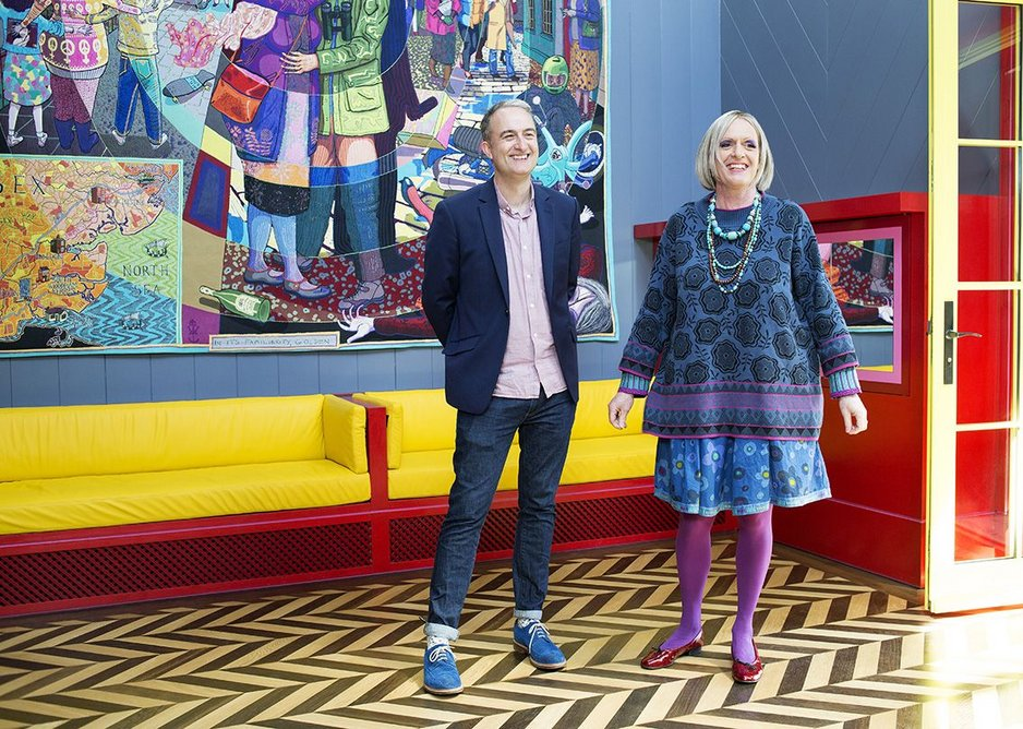 Charles Holland and Grayson Perry.