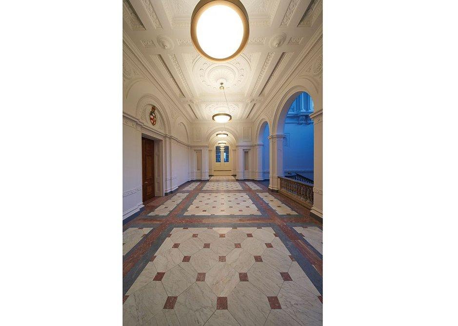 The Dorfman Senate Rooms landing.