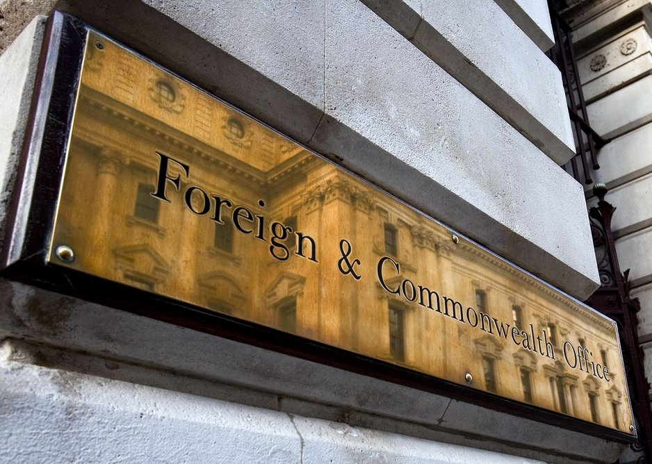 The Foreign & Commonwealth Office, if you look closely.