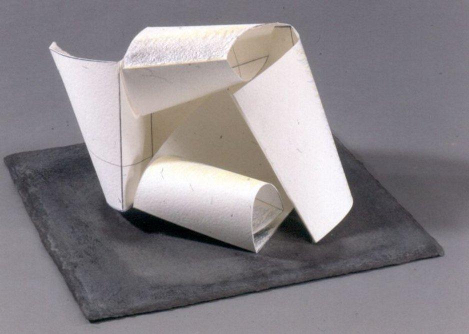 Paper Sculpture No. 24 – Rendering, 1993.