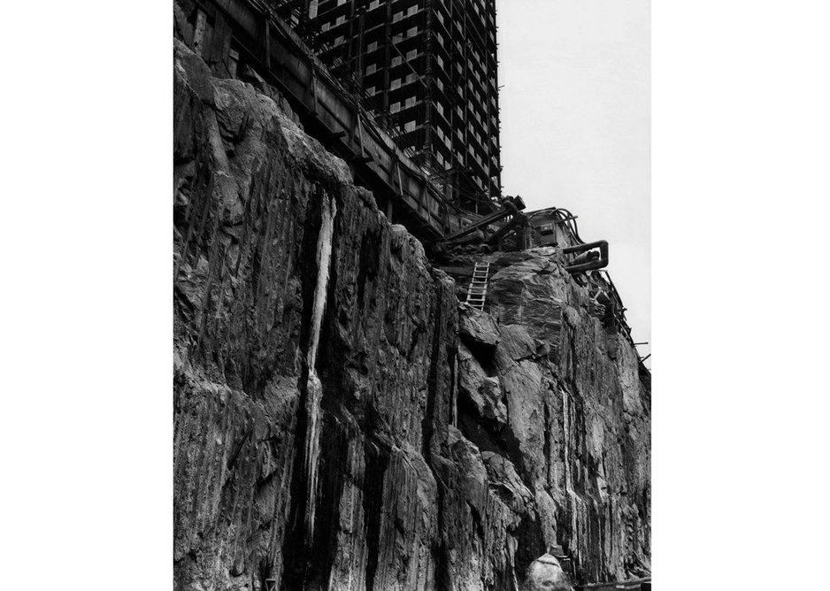 Berenice Abbott, Rockefeller  Center, New York City, 1932.