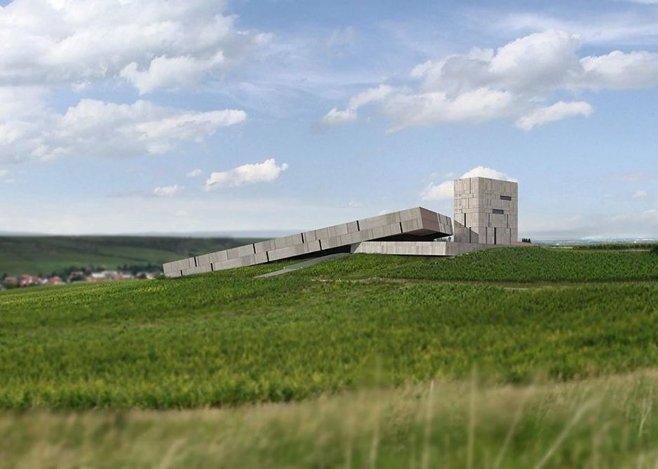 3 Ocean Winery, Nierstein, Germany, 2009 from the exhibition The Architect's Studio: ELEMENTAL at Louisiana Museum of Modern Art, 11 October 2018 - 28 February 2019