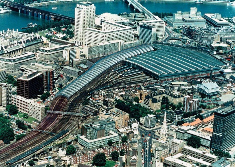 1993: International Terminal Waterloo, London, UK.
