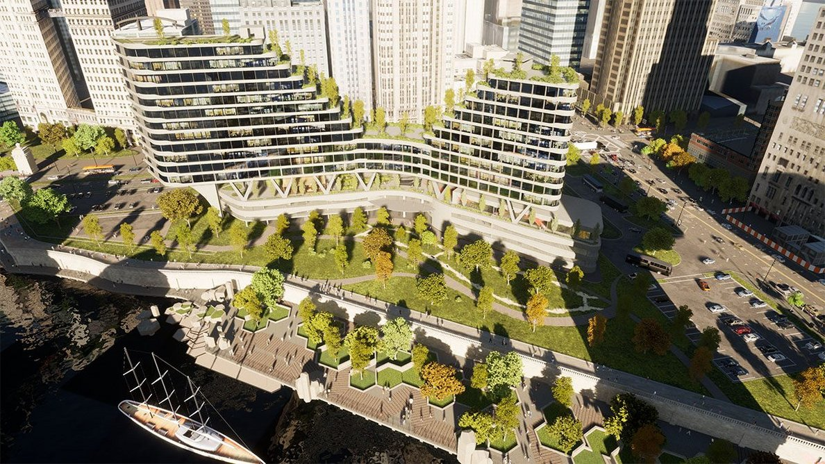 Twinmotion renders out high fidelity 3D images of schemes in real-time.