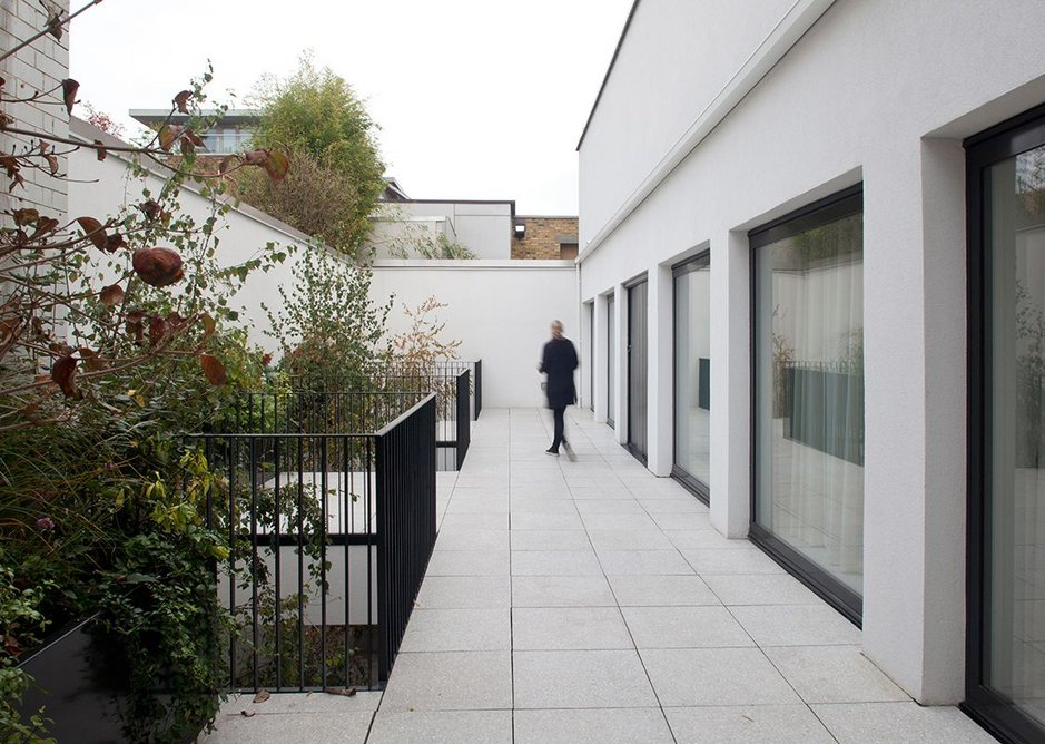 Redchurch Street, Shoreditch by vPPR Architects.