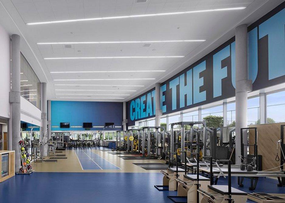 City Football Academy by Rafael Viñoly Architects.