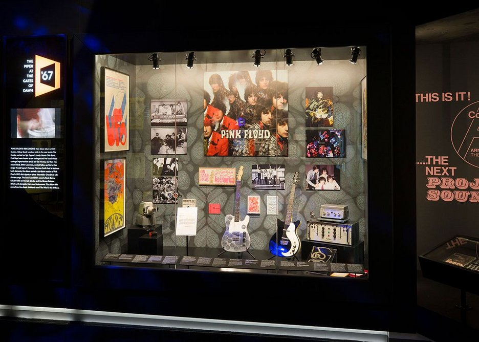 Guitars and amps in glass cases feel lifeless.
