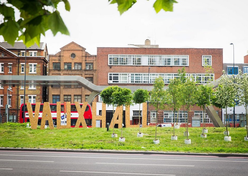 Vauxhall Public Realm Framework by Erect Architecture