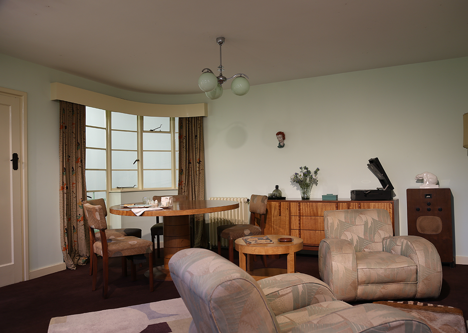 The 1930s Period Room. Courtesy of the Museum of the Home