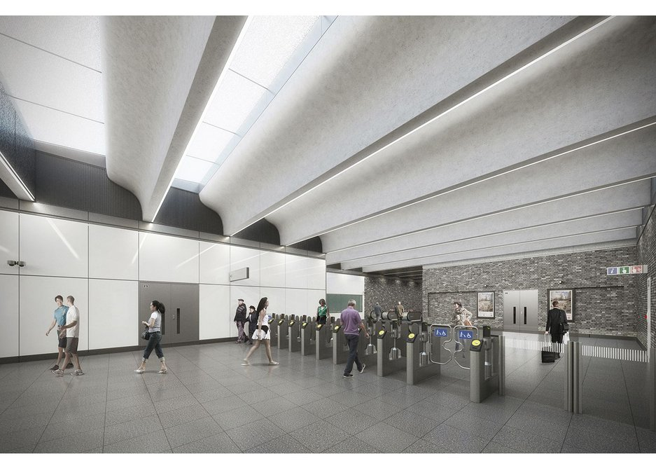 Woolwich ticket hall is a class act by Weston Williamson.