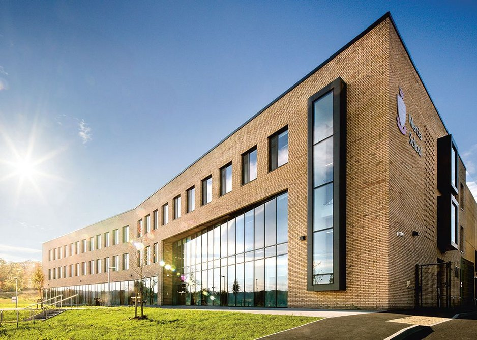 Crisp confident handling of a familiar building type. Mercia School, Sheffield, Bond Bryan Architects, RIBA Regional Award 2019.