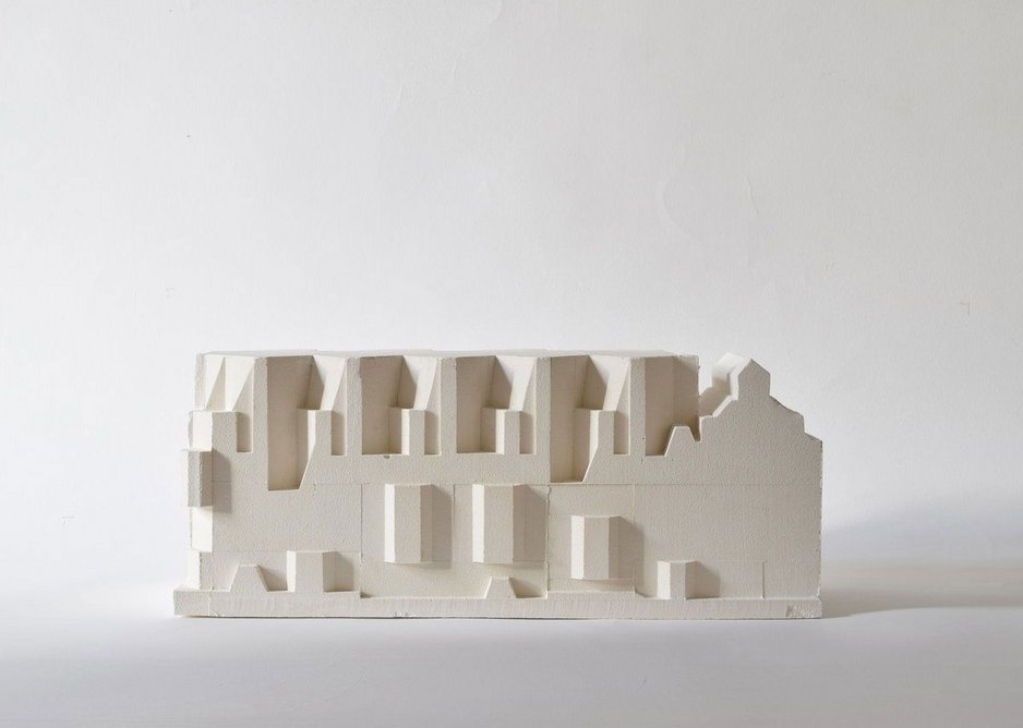 Sergison Bates London (Jonathan Sergison) on HT Cadbury-Brown's proposed extension for the Royal College of Art, Queen's Gate.