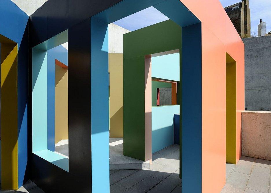 Krijn de Koning, Dwelling (Margate/Folkestone), 2014, Turner Contemporary Margate.