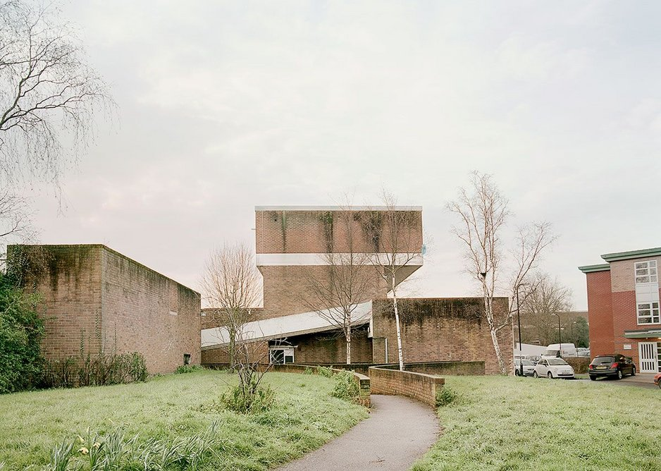 The Lawn, Harlow, 2016. The New Town was planned in 1947 by Frederick Gibberd.