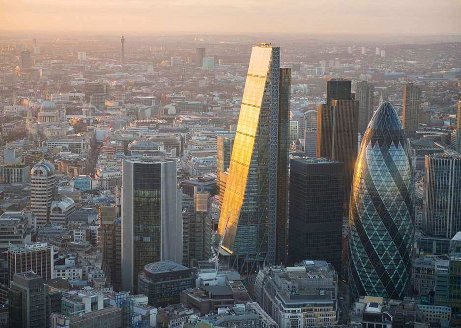 Cheesegrater and Gherkin, two of the most popular high-rises of the Open House weekend.