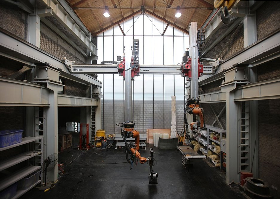 Fab-Union Robotic Factory.