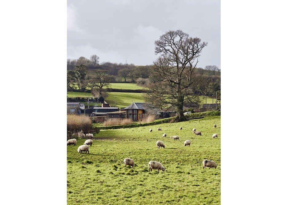 Cob Corner sits in the Erme Valley near Ivybridge in south Devon.