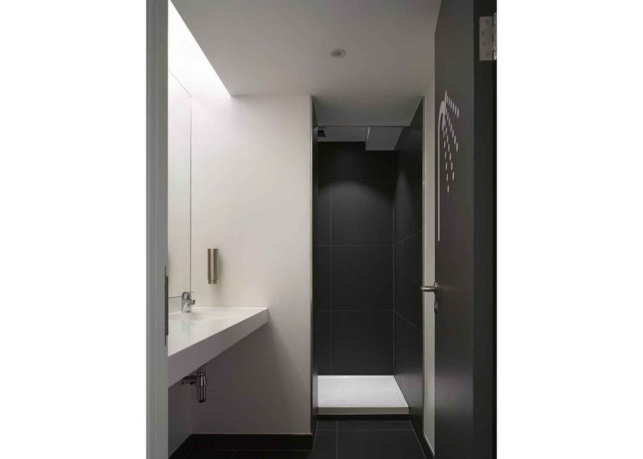 Shower rooms.