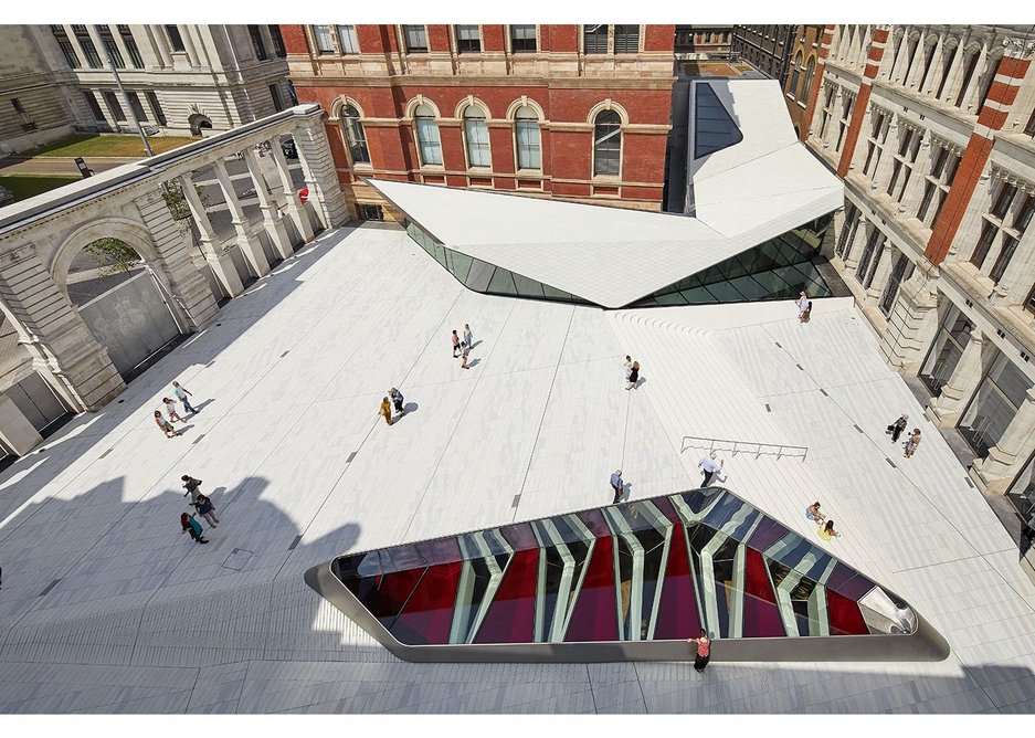 The V&A extension.