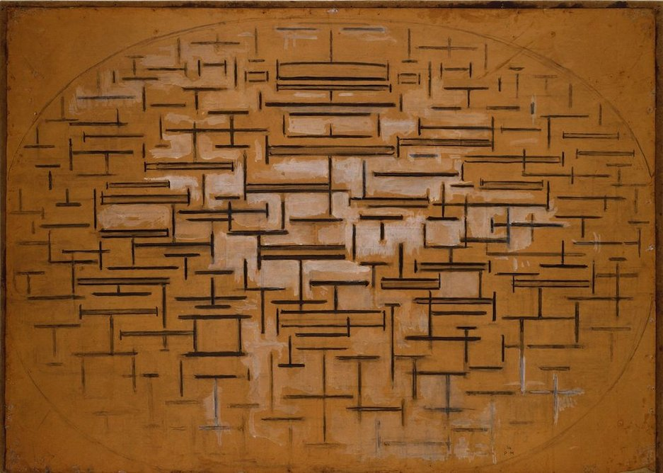 Piet Mondrian – Ocean 5, 1915.