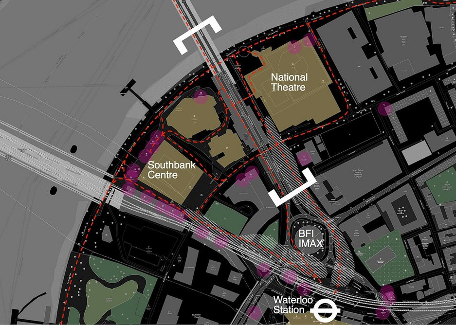Casper Mueller Kneer's night site plan for Waterloo.