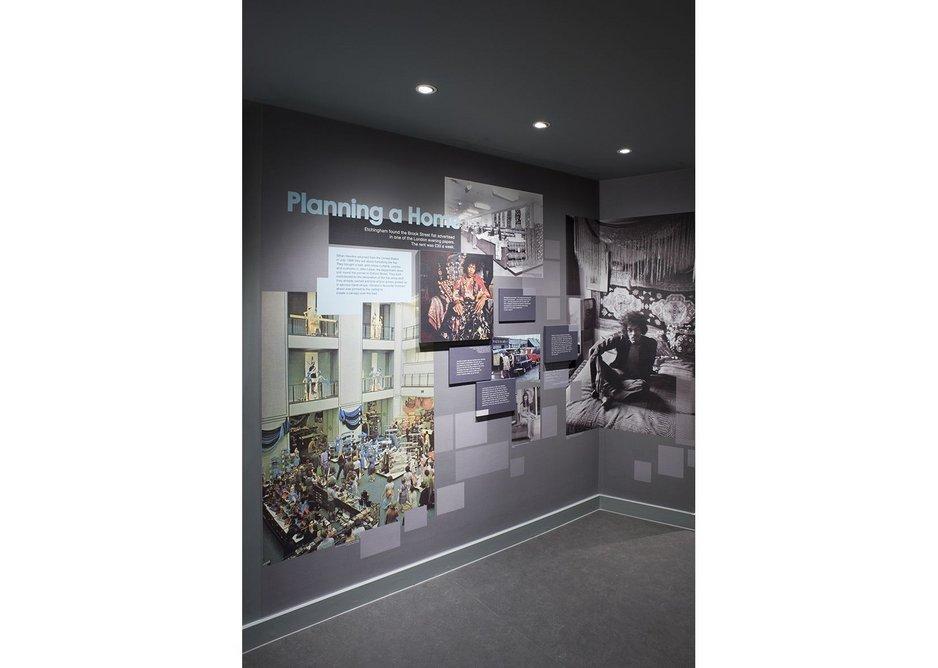 Handel & Hendrix in London Exhibition by Phillip Reed.