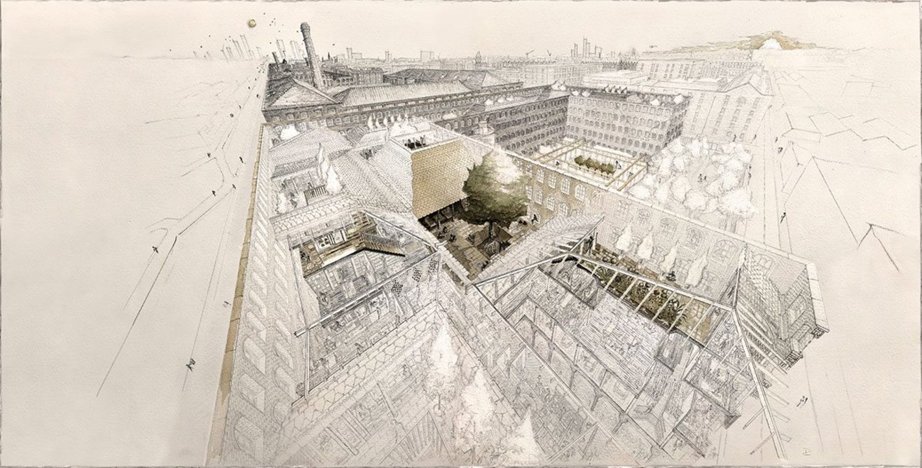 The Manchester Courtyards; a proposal for Ancoats.