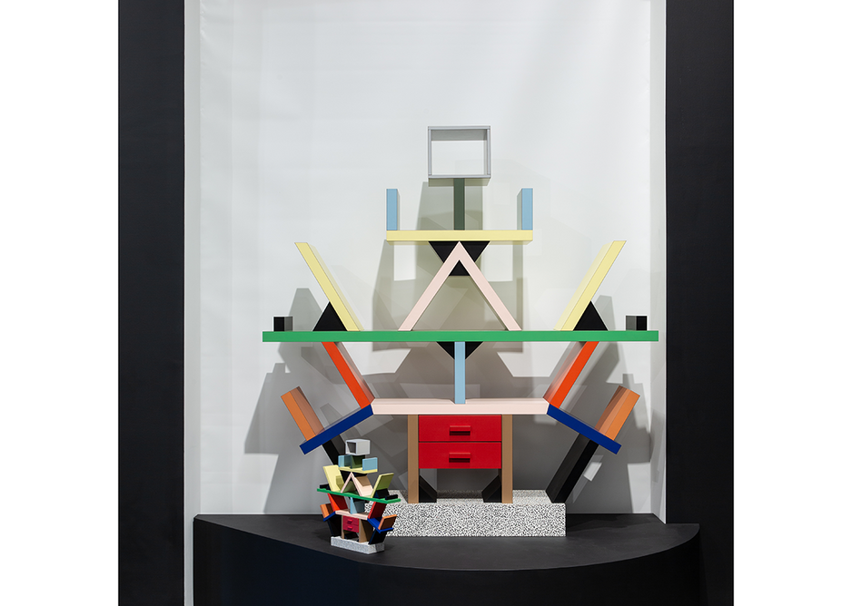 Carlton by Ettore Sottsass 1981, from the exhibition Memphis: Plastic Field, at MK Gallery, Milton Keynes.