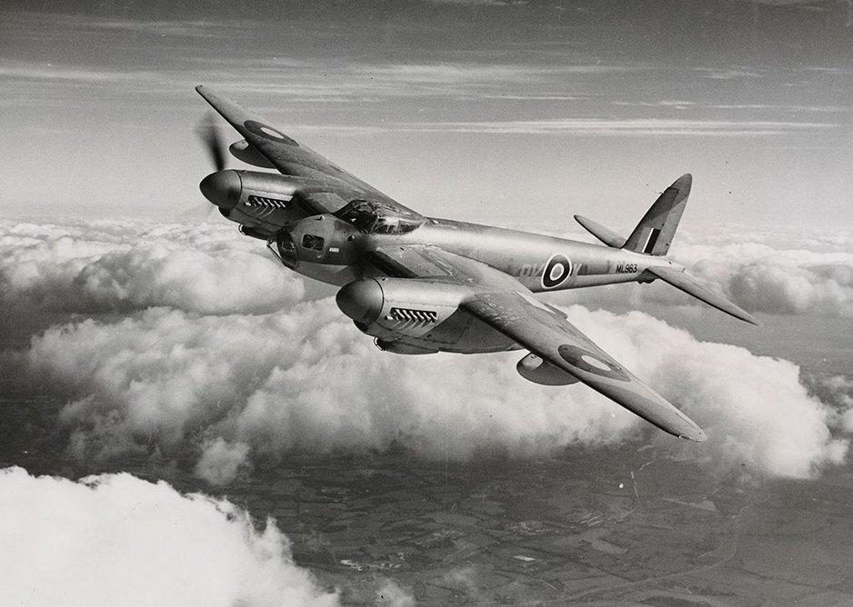 British de Havilland Mosquito, 1941.