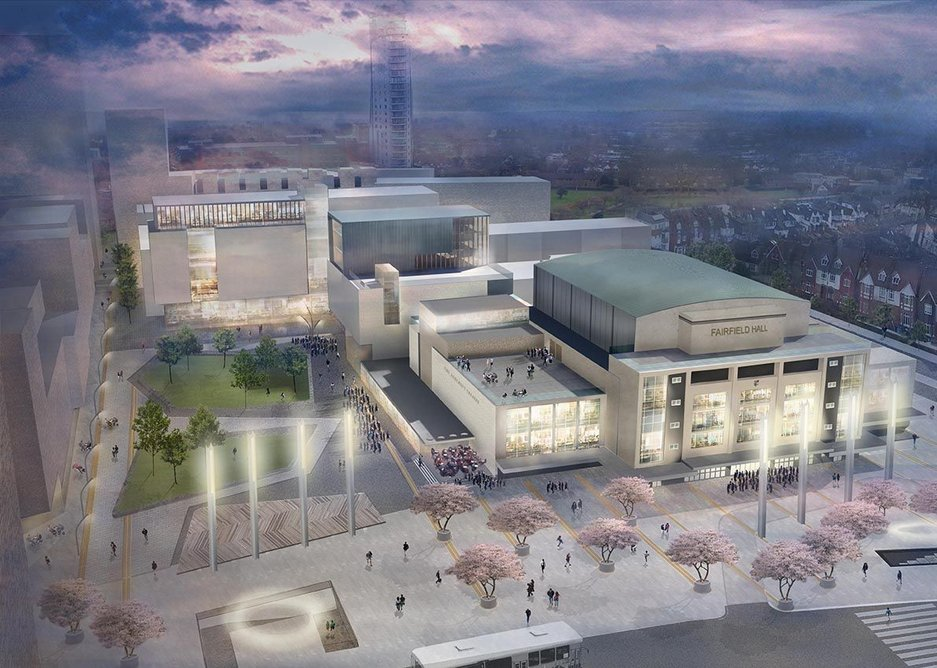 Fairfield Halls revamp by Rick Mather Architects.