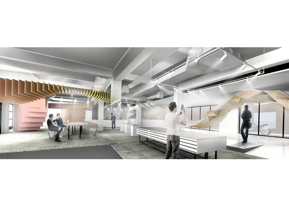Knauf will open its London showroom doors to see architecture in action.