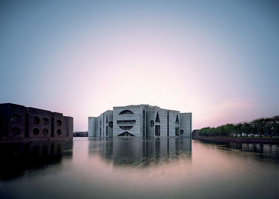 National Assembly Building, Dhaka, Bangladesh, 1962-83