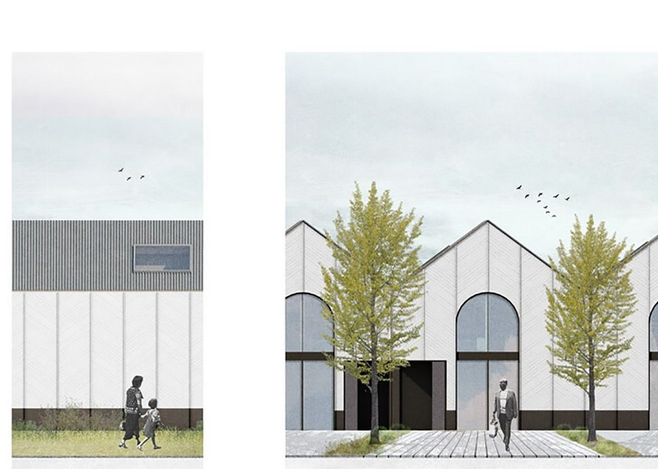 The Old Boathouse, a nine home part-conversion, part-new build scheme on the banks of the Thames.